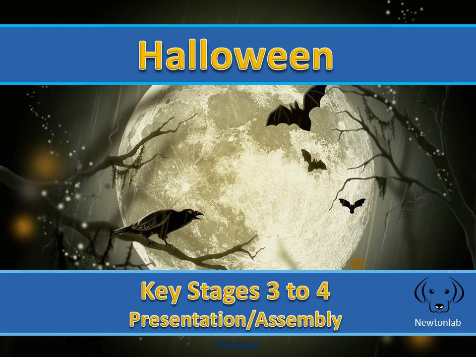 Halloween - Key Stages 3 to 4