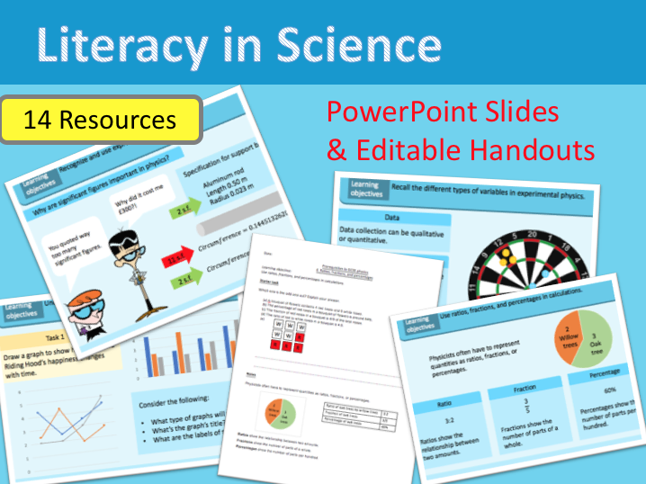 Literacy in Science | KS3 | KS4 Year 9 | Introduction to Science