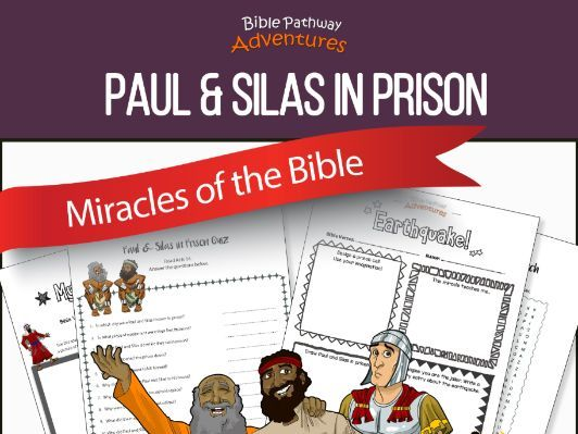 Bible Miracles: Paul & Silas in Prison