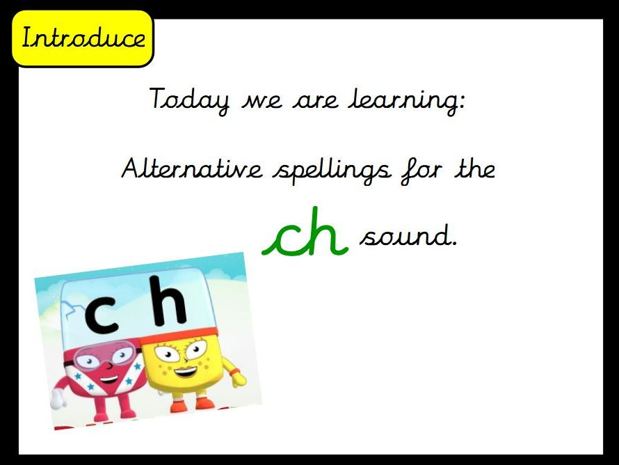 Phase 5 alternative spellings flipchart