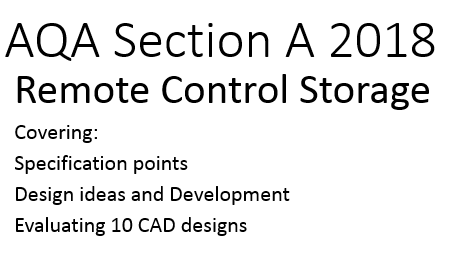AQA Remote control storage BUNDLE