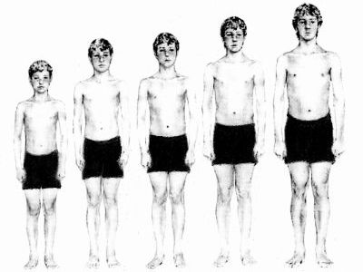 Boys growing up and getting to know their bodies