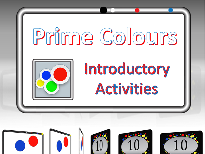 Prime Colours - Experience Prime Numbers
