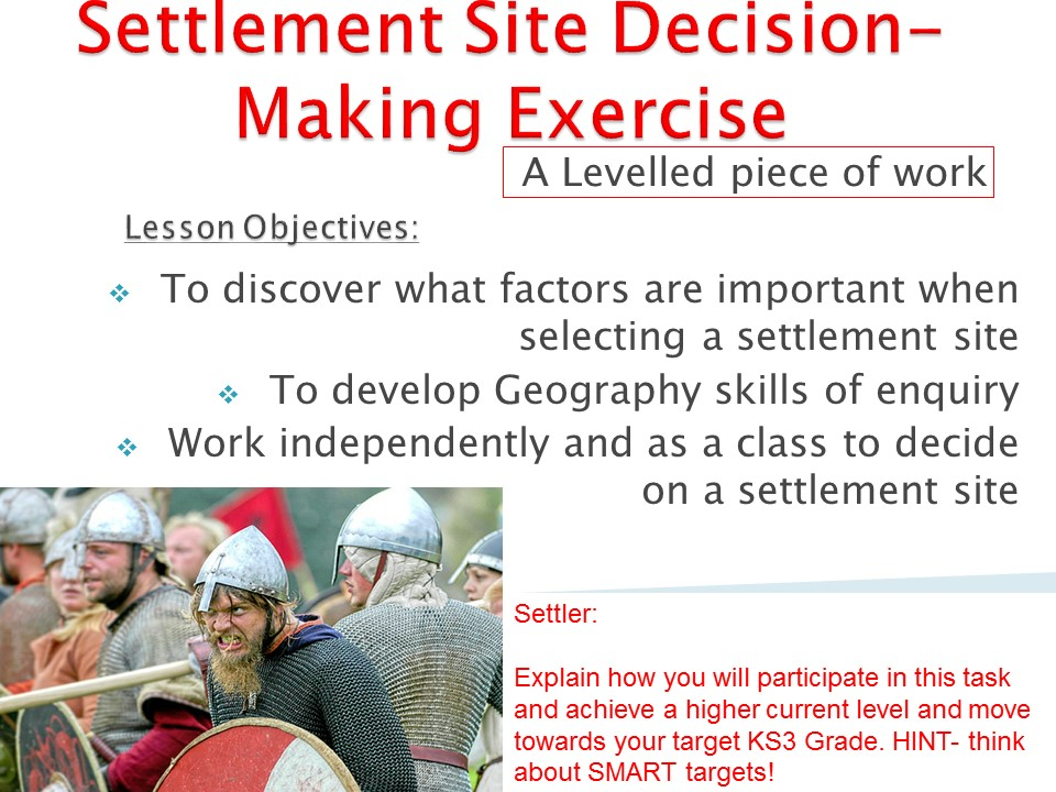 KS3 Geography Year 7 Mapwork and Settlements (1) SOW by GJDavis27 ...