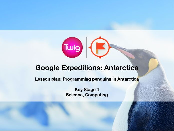 Google Expeditions lesson plan: Antarctica