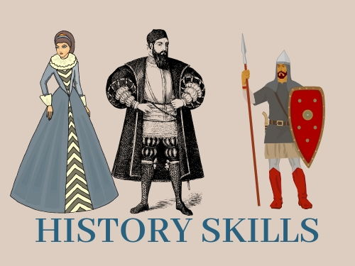 Differentiated History Starter-Centuries, Sources and history terms/ SEN