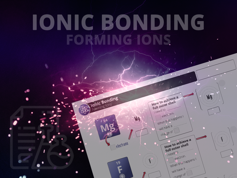 Ionic bonding - Forming Ions