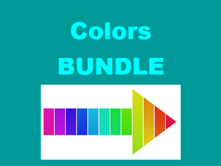 Couleurs (Colors in French) Bundle
