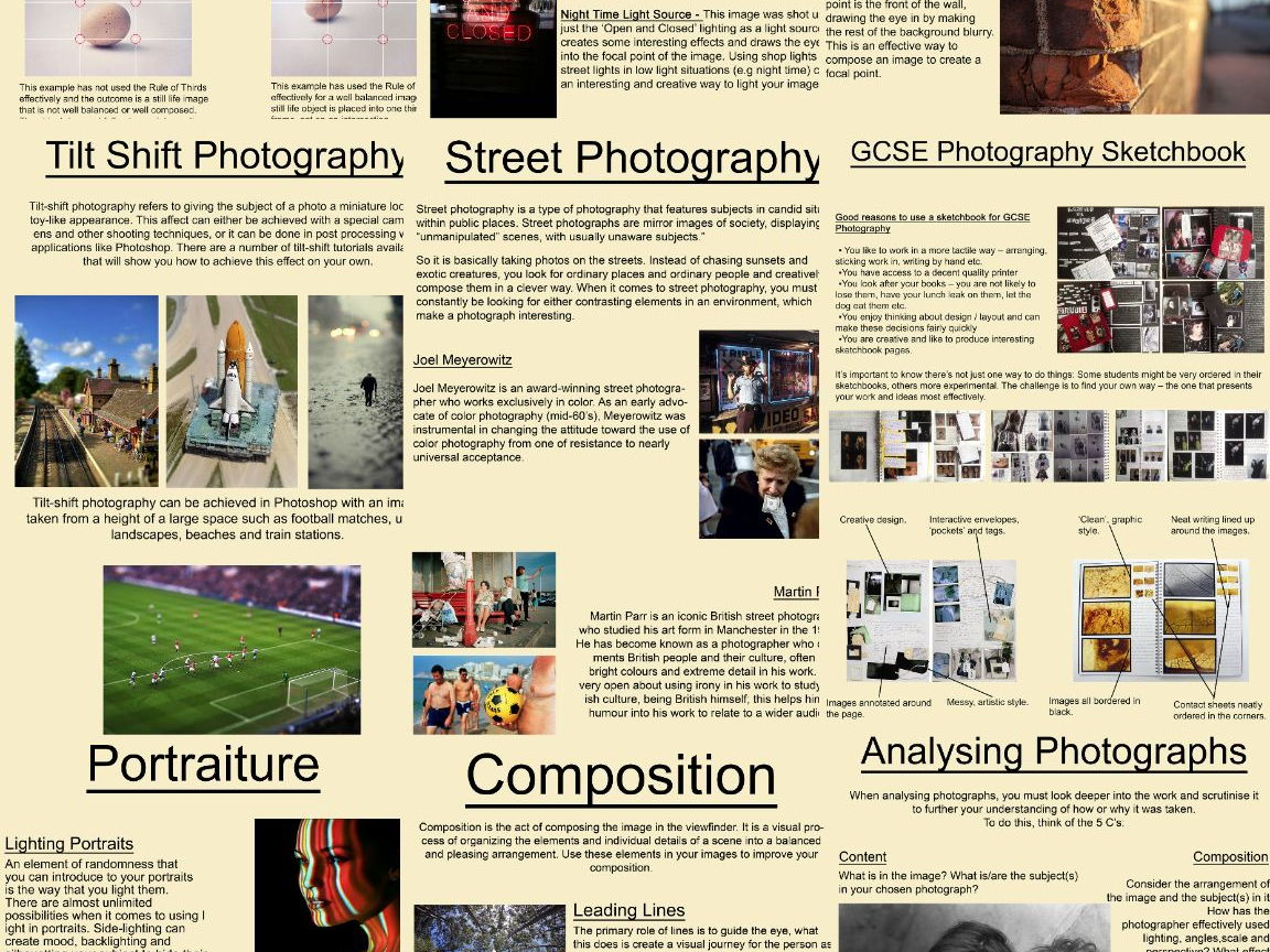 Art & Photography Poster/Handout Bundle
