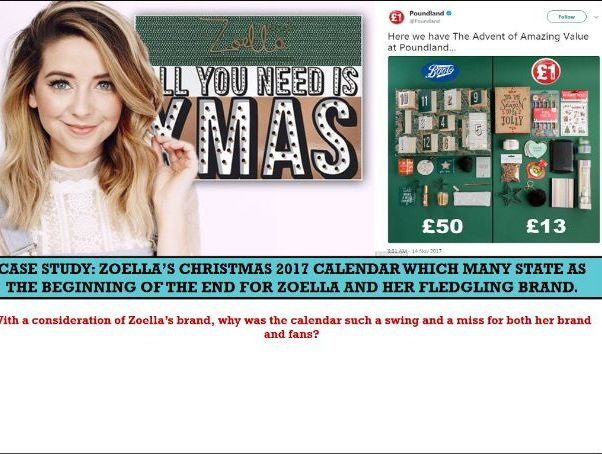 EDUQAS AS COMP 2: SEC C, ONLINE MEDIA 'ZOELLA'  INDUSTRY AND AUDIENCE VLOGS/WEBSITES