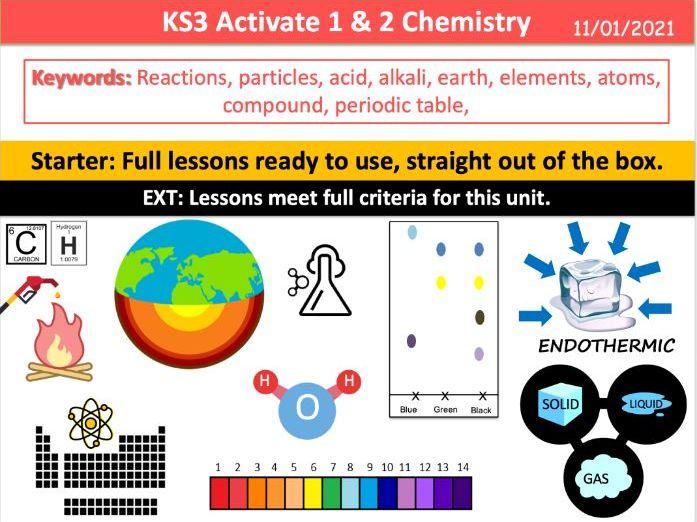 KS3 Activate 1 & 2 Chemistry