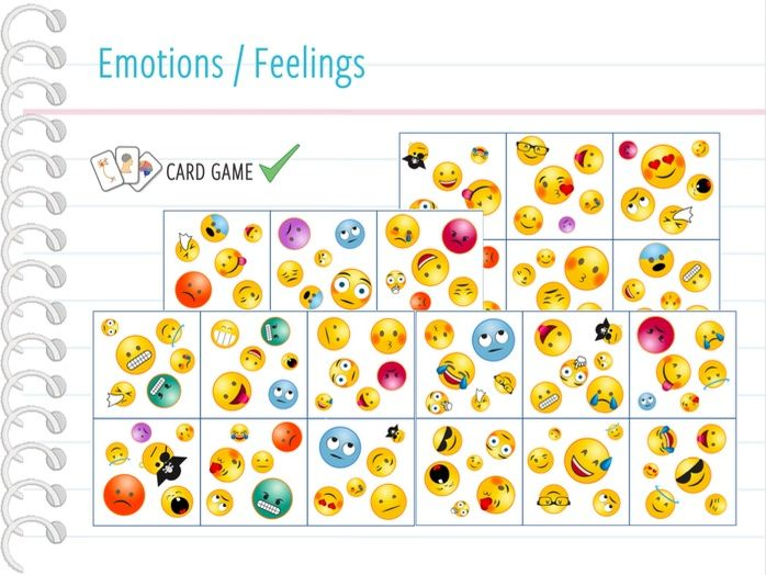 Emotions / Feelings - Card Game