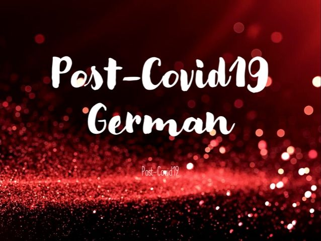 Post Covid German - Wenn and Imperatives