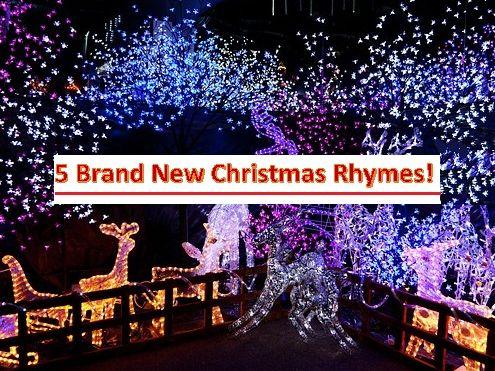 5 Christmas Rhymes - brand new!