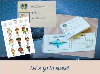 All about me for ESL primary