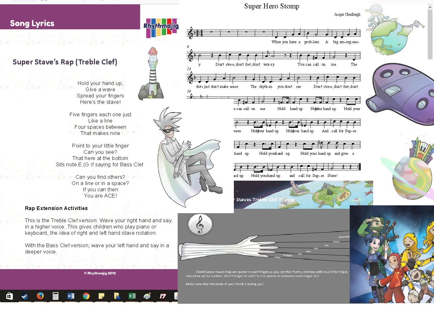 Autumn 2 Year 3 complete music scheme: Super Stave (Unit 2)