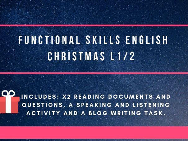 Christmas - Functional Skills
