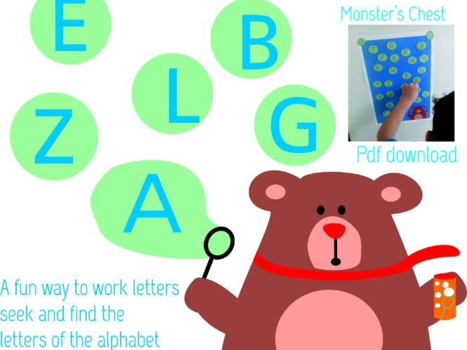 ABC Activities.  English and Spanish Alphabet