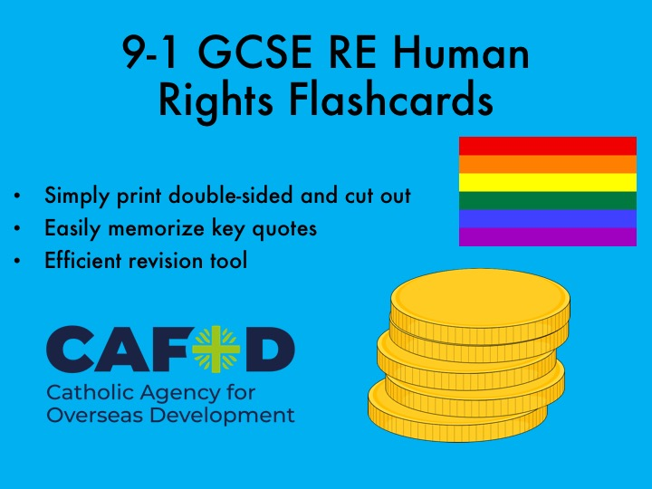 9-1 GCSE RE Human Rights Flashcards