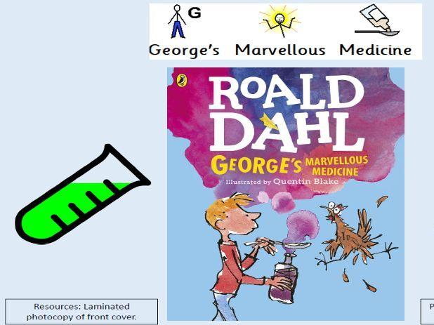 George's Marvellous Medicine Sensory Story