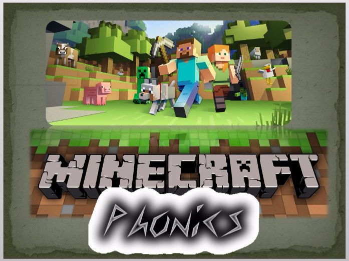 Minecraft Phonics - a-z