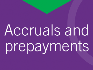 AAT Level 3 - Accruals & Prepayments