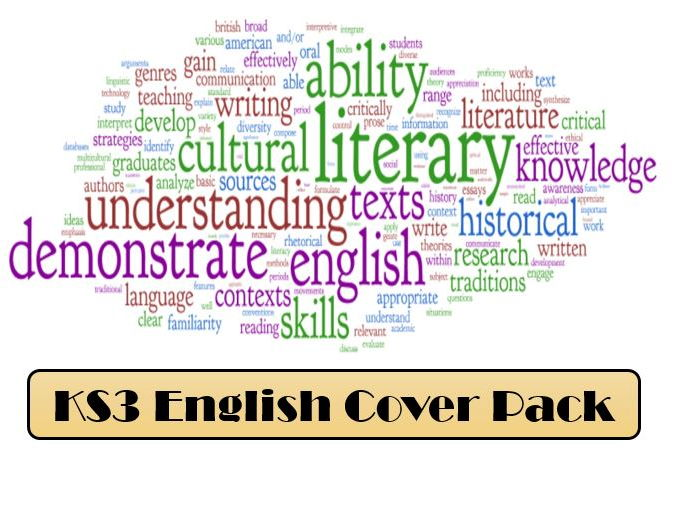 KS3 English Cover Pack (Language & Literature)
