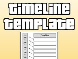 Timeline Template (Editable in Google Slides)