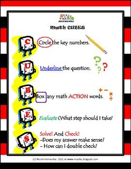 Problem Solving - Math CUBES