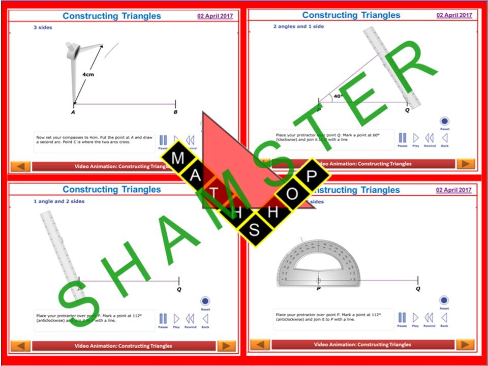 Construction Triangles Revision