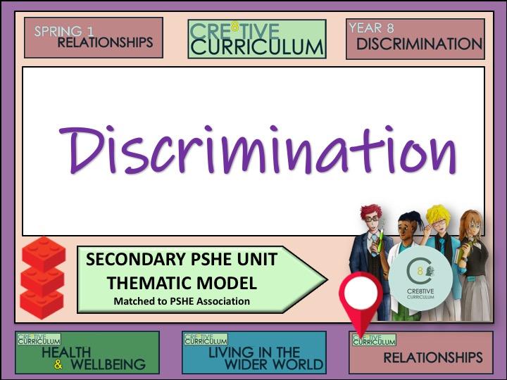Thematic PSHE Discrimination