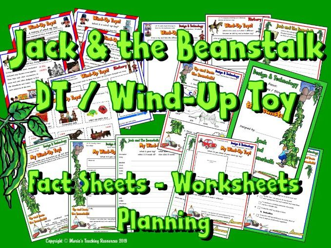 DT / Wind-Up Toys / Jack & The Beanstalk