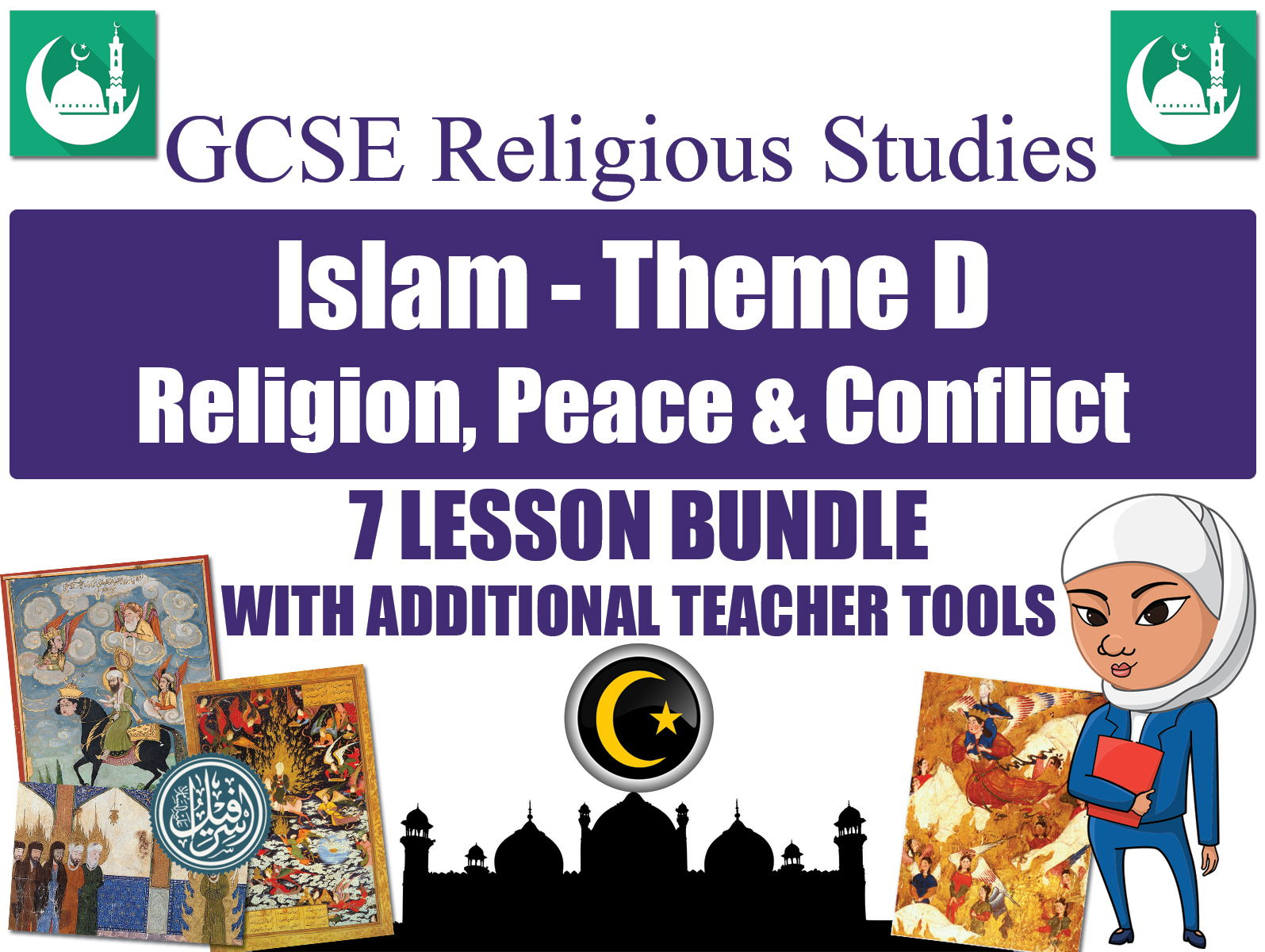 GCSE Islam - Religion, Peace & Conflict (7 Lessons)