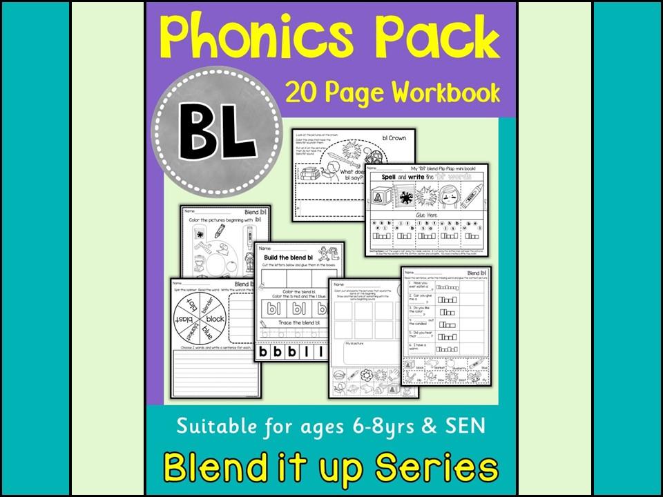 Phonics BL Blend