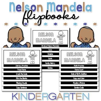 Flipbook for Nelson Mandela NO CUT Bundle