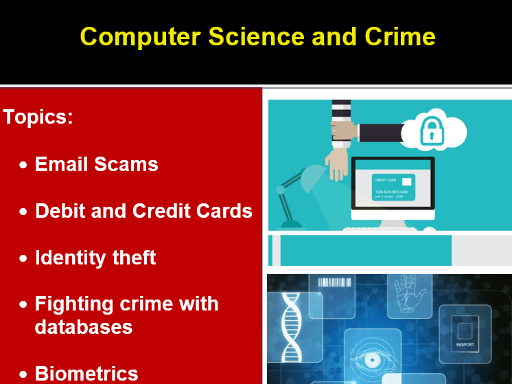 ICT: Cybersecurity and Crime