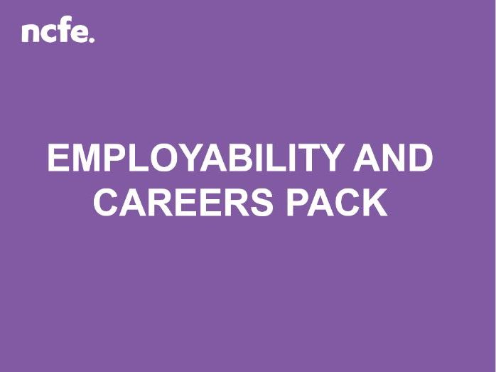Employability and Careers Pack (10 * 2 hr sessions)