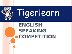 Oral fluency activities for ESL bundle. Competition format.