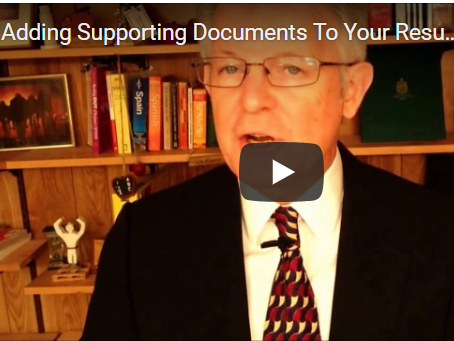 Adding Supporting Documents To Your Resume While Applying Here's How