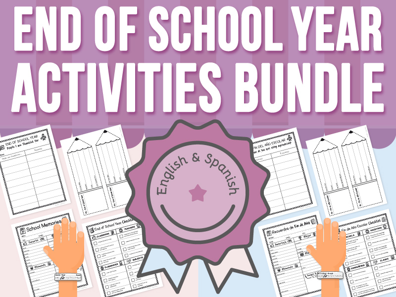 End of School Year Activities - BUNDLE