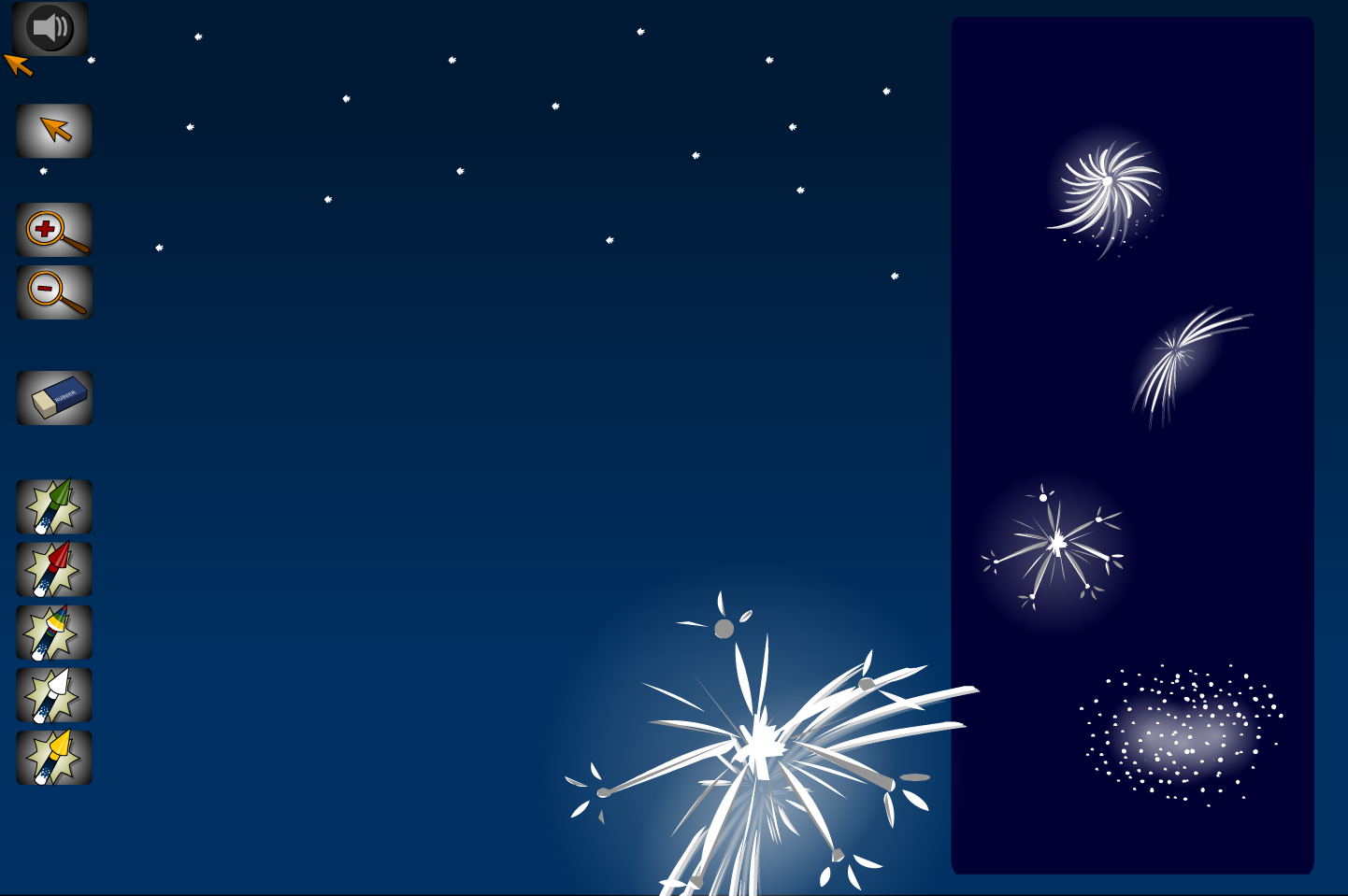 Make Your Own Firework Sky - Interactive Activity - Bonfire Night KS1