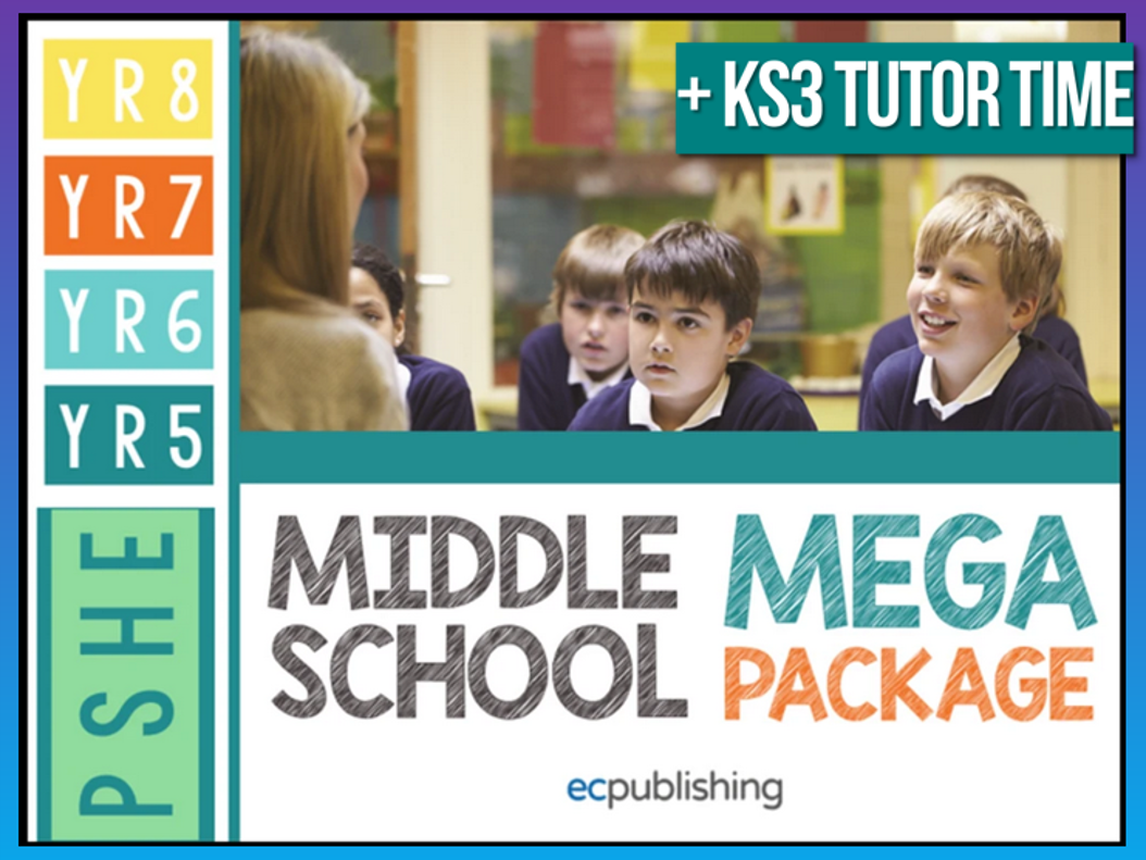 Complete Middle School PSHE with Tutor Time