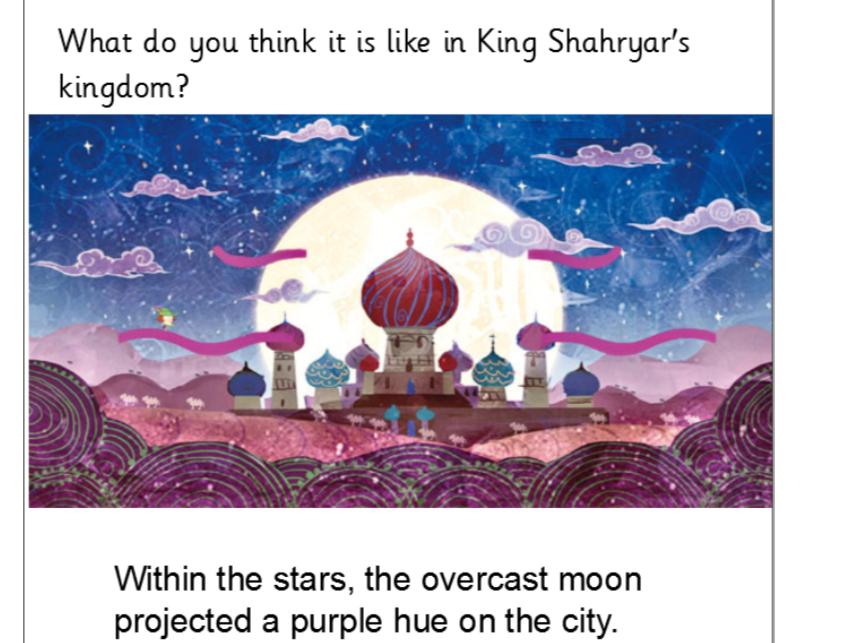 Year 5/6 Diary writing based on Arabian Nights