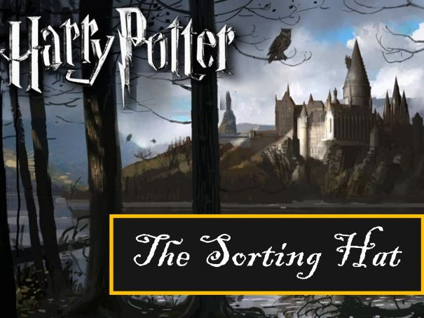 Harry potter sorting hat not a random house generator by oliverl18 cover image toneelgroepblik Image collections
