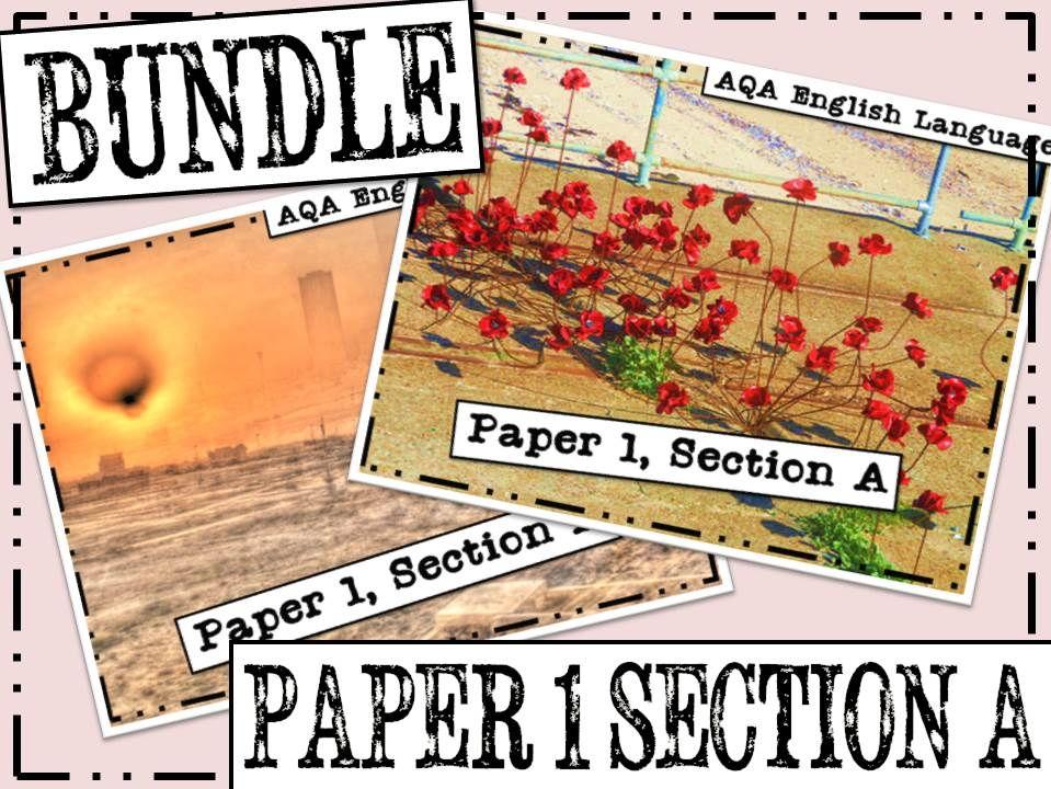 AQA  GCSE English Language Paper 1, Section A Resources