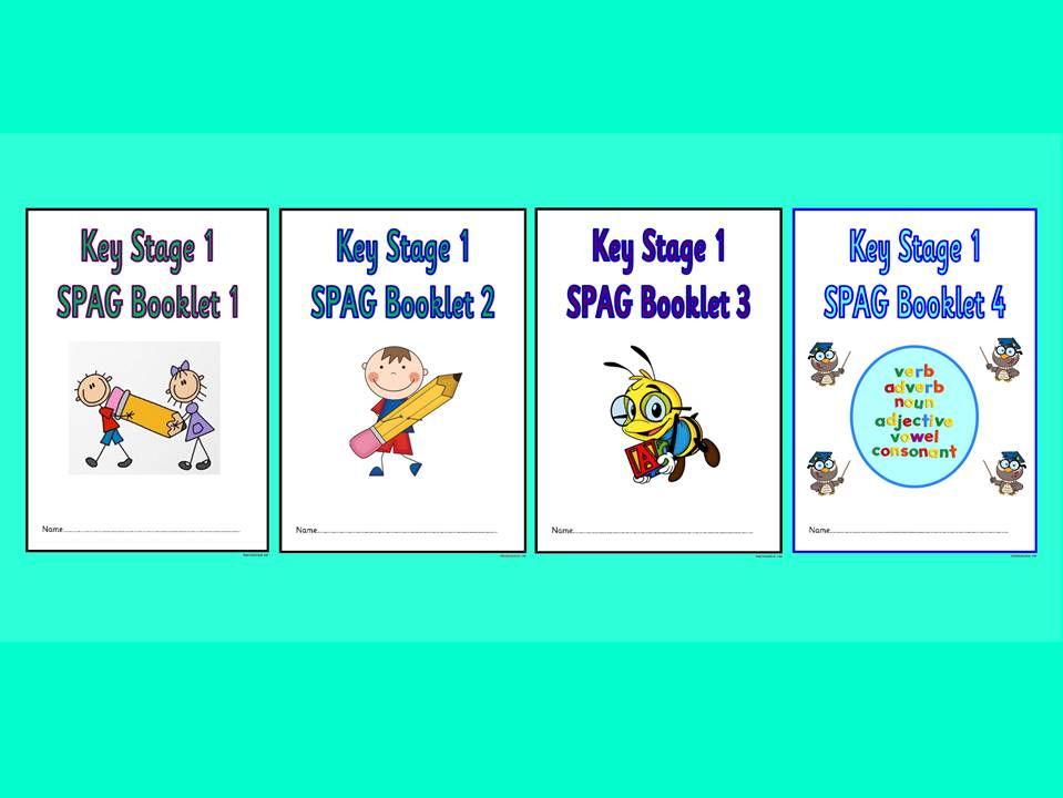 KS1 SPaG Booklets, Bundle 1