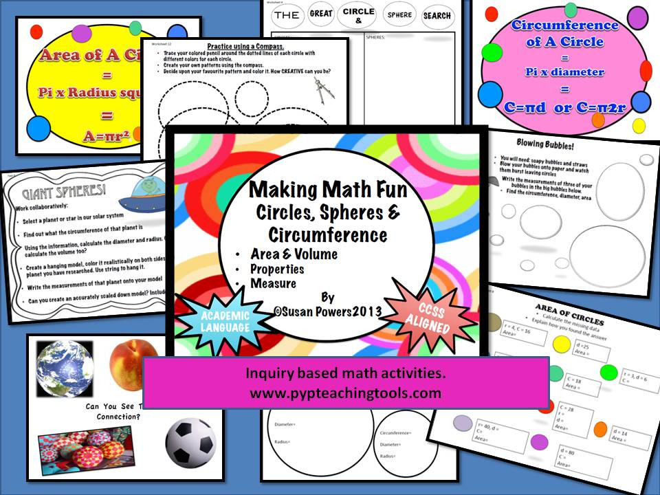 Geometry for Big Kids Circles, Spheres & Circumference