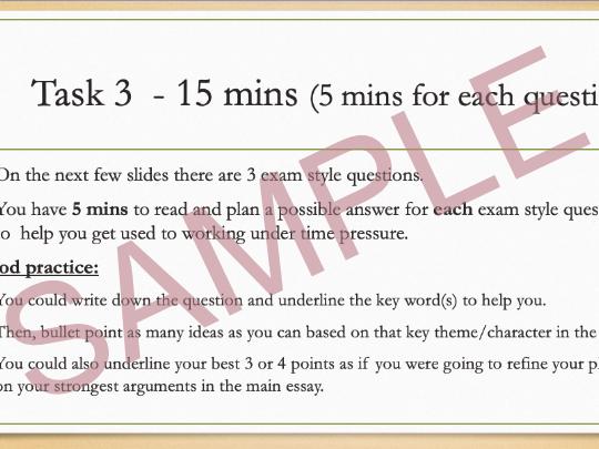 Of Mice and Men Exam Preparation