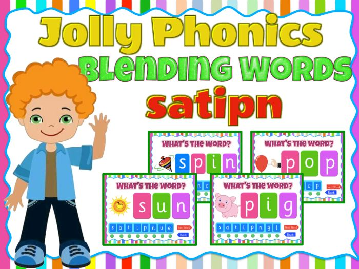 Phonics Blending  activity game- (satipn)  Animated PPT with sound effects - Smartboard