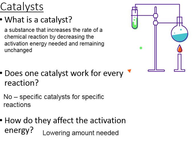C8.5 Catalysts - elephant toothpaste practical